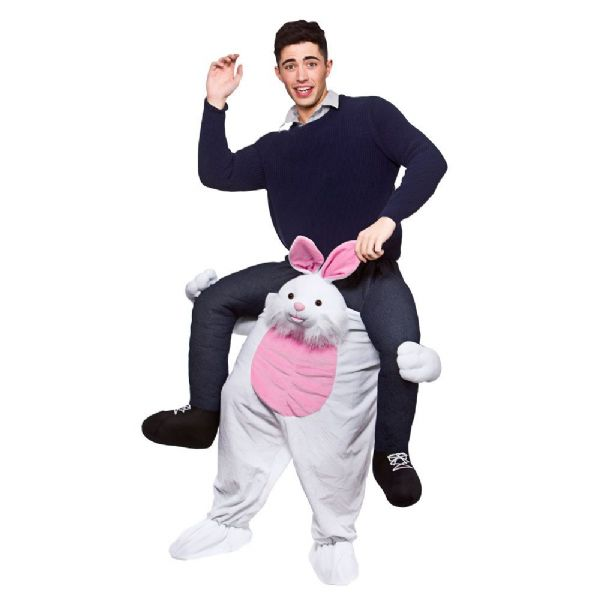 Adults Carry Me Easter Bunny Costume for Rabbit Animals Easter Fancy Dress